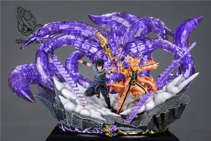 naruto sasuke ultimate statue