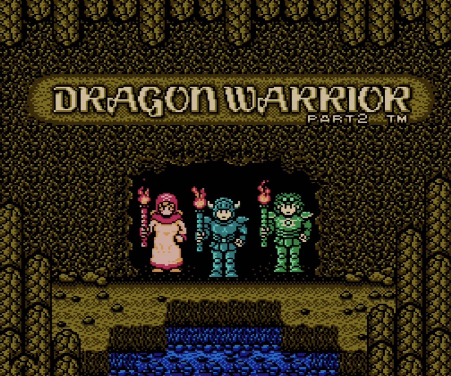 Dragon Warrior IV NES